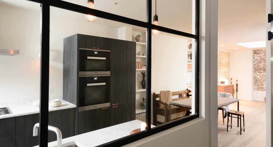 Keuken Zwart Stoere : Stoere houten keuken van devol inrichting huis.com