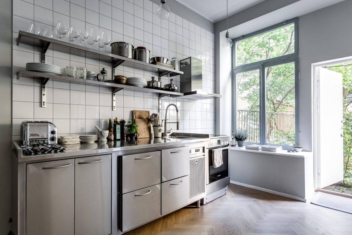 White Keuken Stoere : Stoere keuken met gezellige eethoek woonkamer inrichting huis