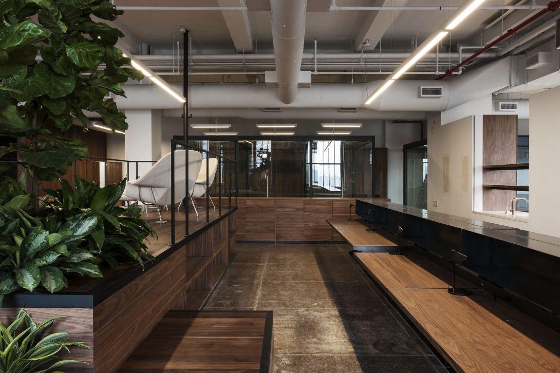 Het stoere loft kantoor van FiftyTree