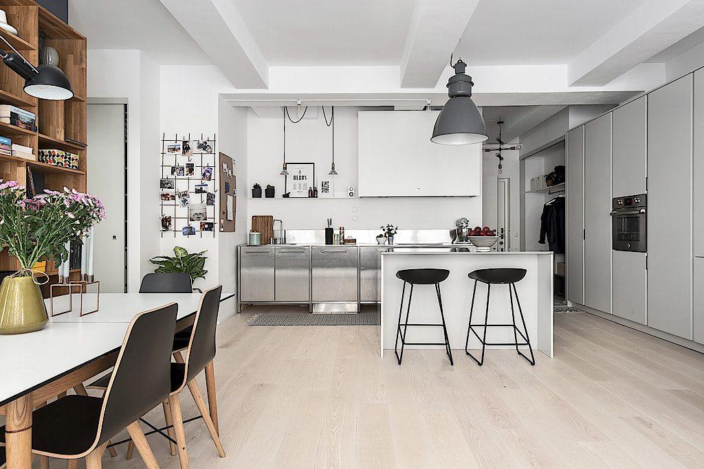 Moderne Open Keukens : Stoere moderne open keuken met eiland inrichting huis