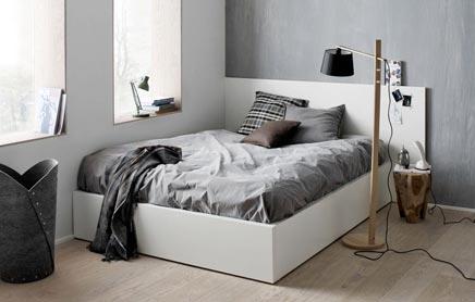 Stoere slaapkamer van boconcept inrichting - Moderne design slaapkamer ...