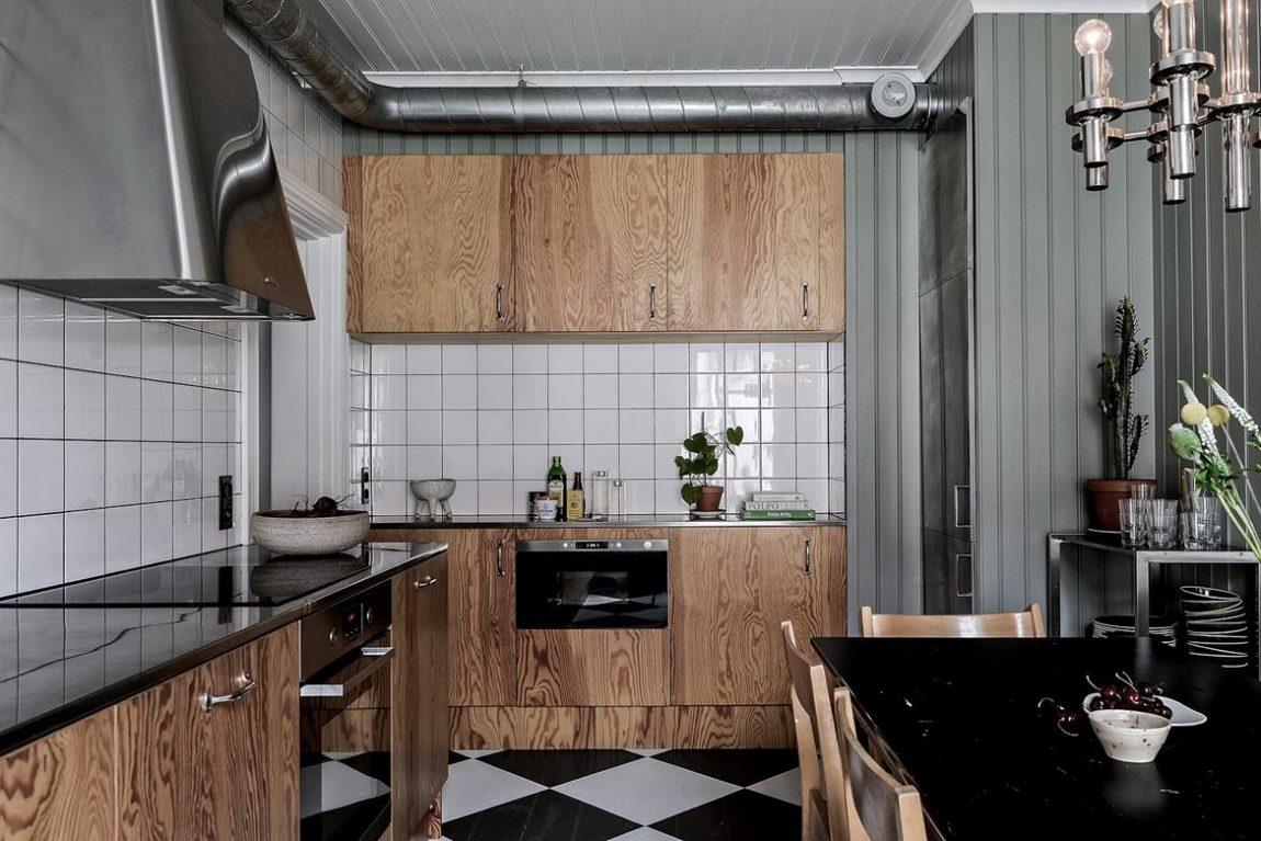 Stoere verrassende underlayment keuken