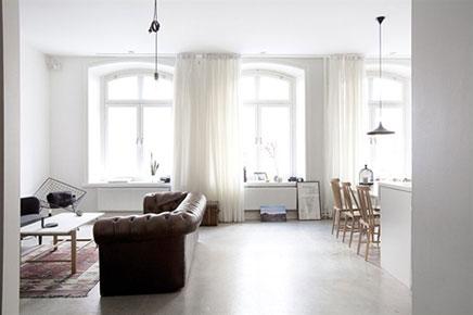 Stoere woonkamer