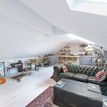Tough living room decor attic