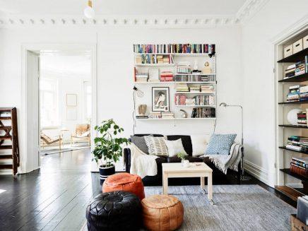 Mooie boekenrekken | Inrichting-huis.com