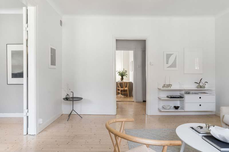 stringkast woonkamer