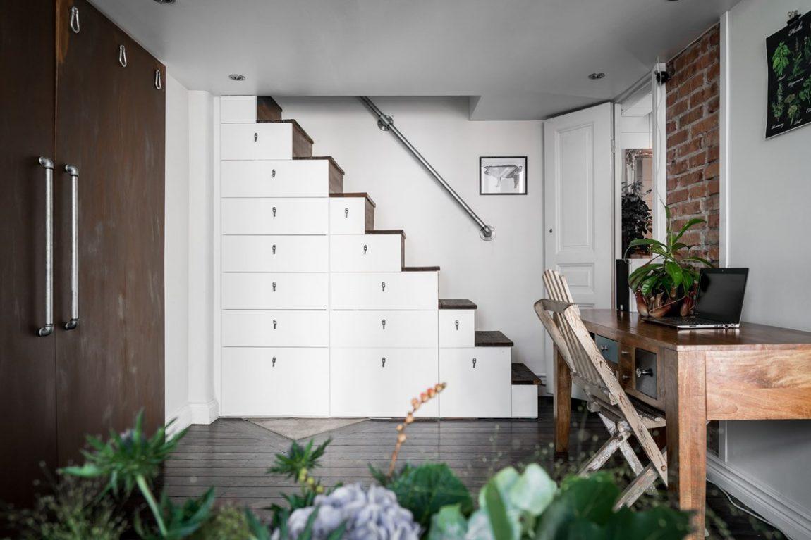 Super leuk klein appartement vol leuke ideeën | Inrichting-huis.com
