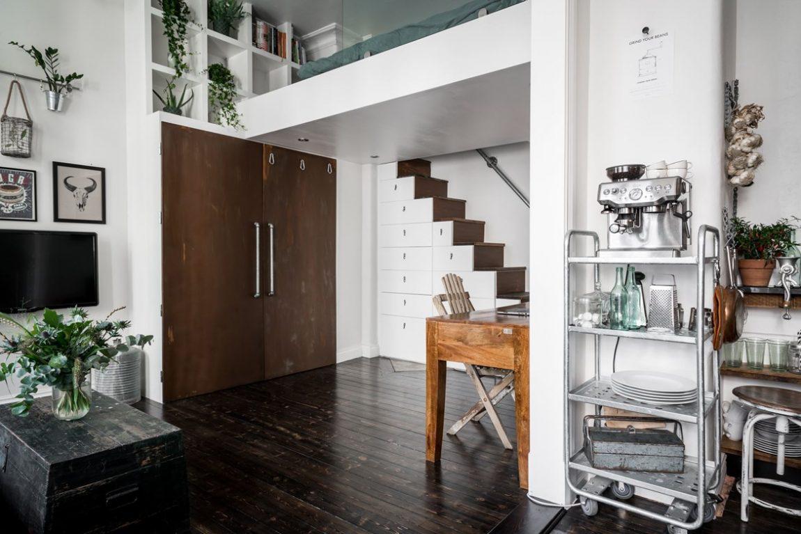 Super leuk klein appartement vol leuke ideeën