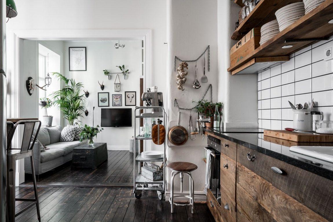 Super leuk klein appartement vol leuke idee n inrichting for Leuke inrichting