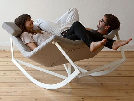Sway Rocking Chair van Markus Krauss
