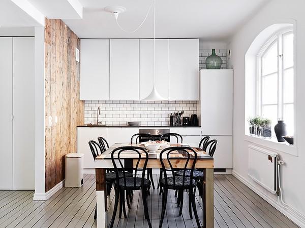 Zwart Wit Appartement : Zweeds appartement in zwart wit inrichting huis.com
