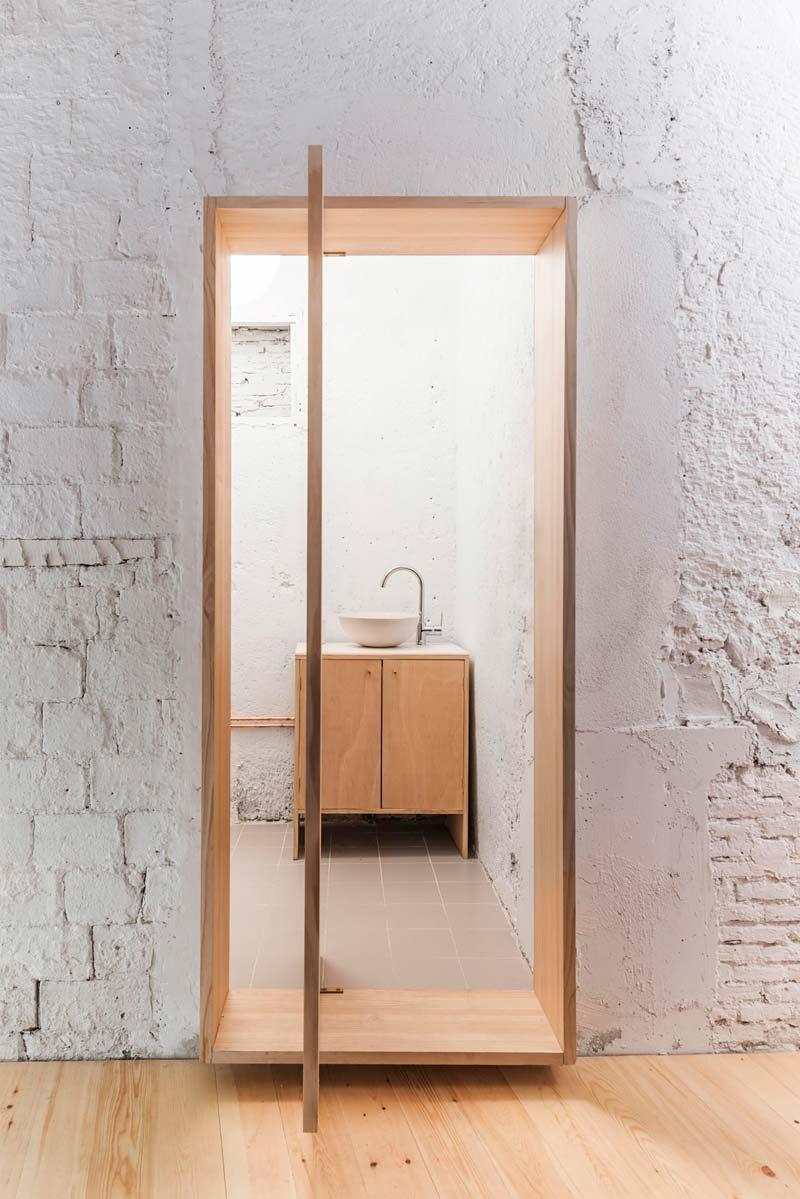 taatsdeur van hout