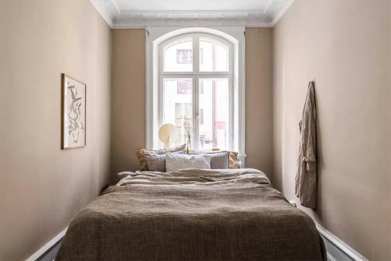 taupe interieur slaapkamer muren