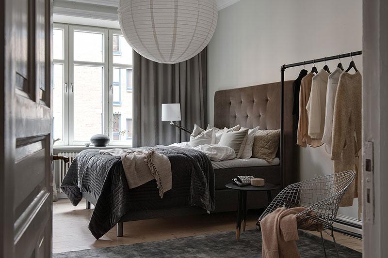 taupe muren slaapkamer