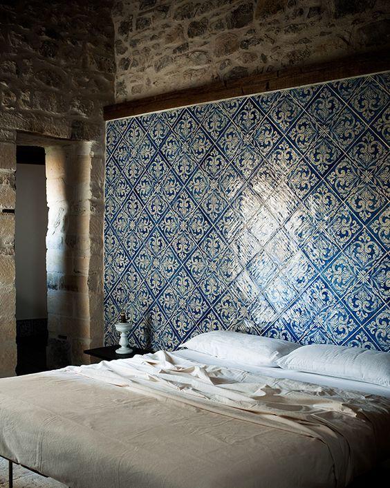 tegels-muur-slaapkamer
