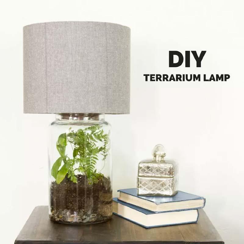 terrarium lamp maken
