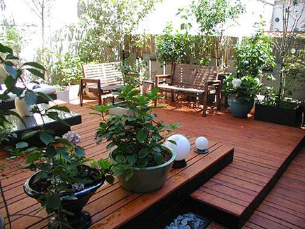Terras tuin ideeën uit brooklyn inrichting huis.com