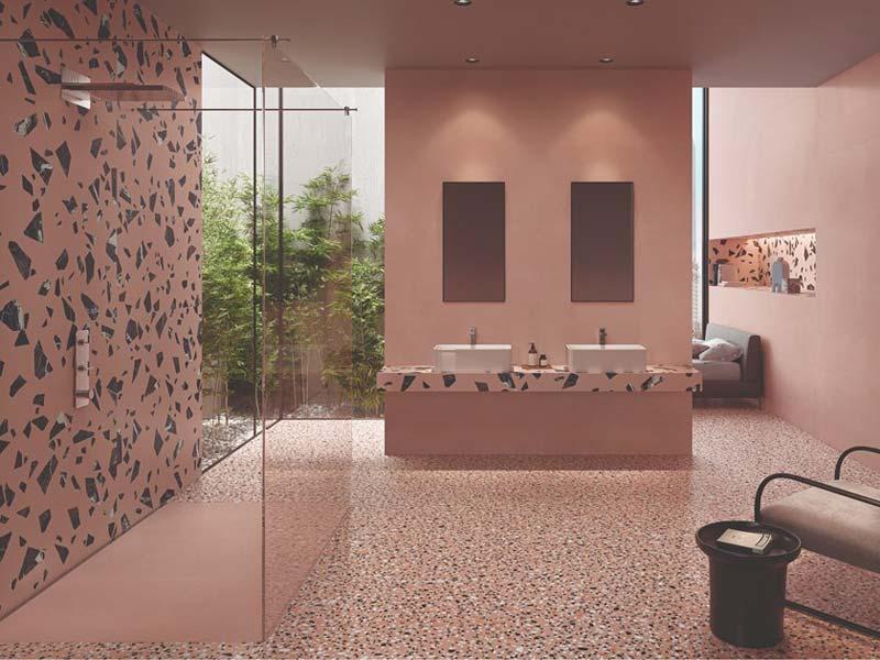 terrazzo vloer kleuren