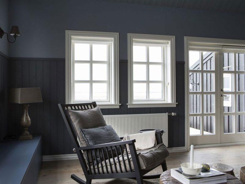 The Black House - een traditioneel landelijk houten huis uit Finland