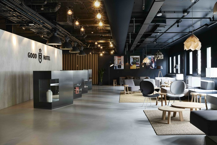 The good hotel inrichting for Interieur design opleiding hbo