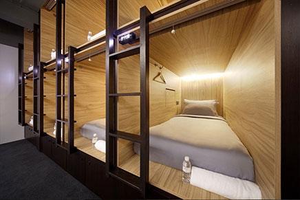 The Pod capsule hotel in Singapore