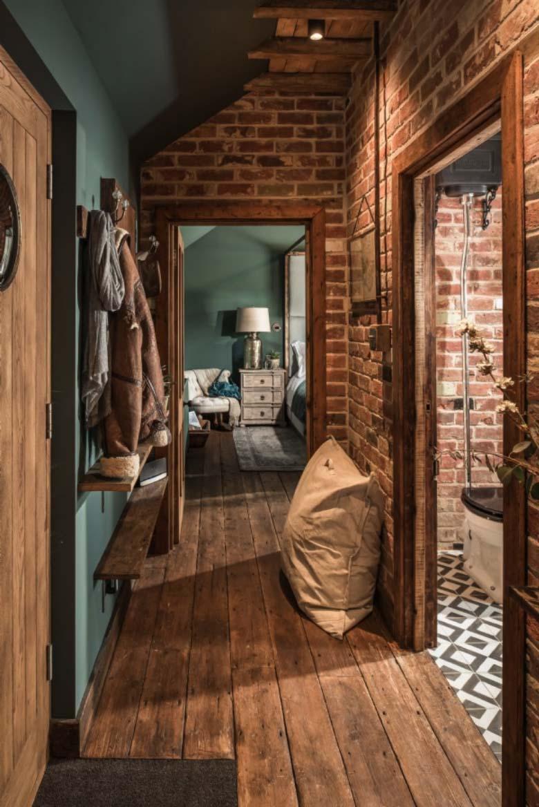 The sanctuary knus rustiek vakantiehuisje in het for Landelijke inrichting huis