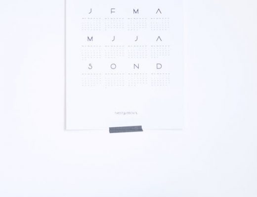 Thestylebox Printable Kalender