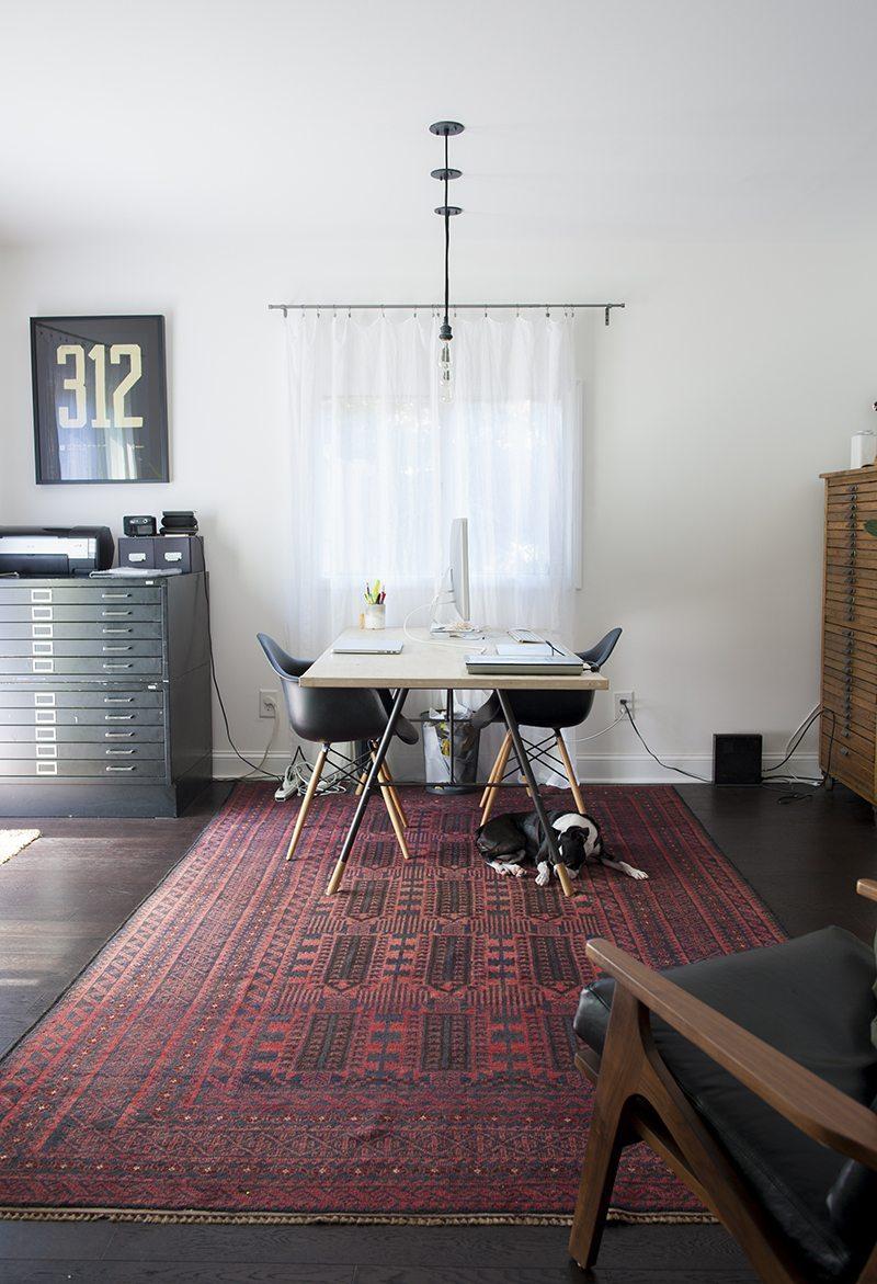 Thuiskantoor houten: loft met perfecte thuiskantoor interieur ...