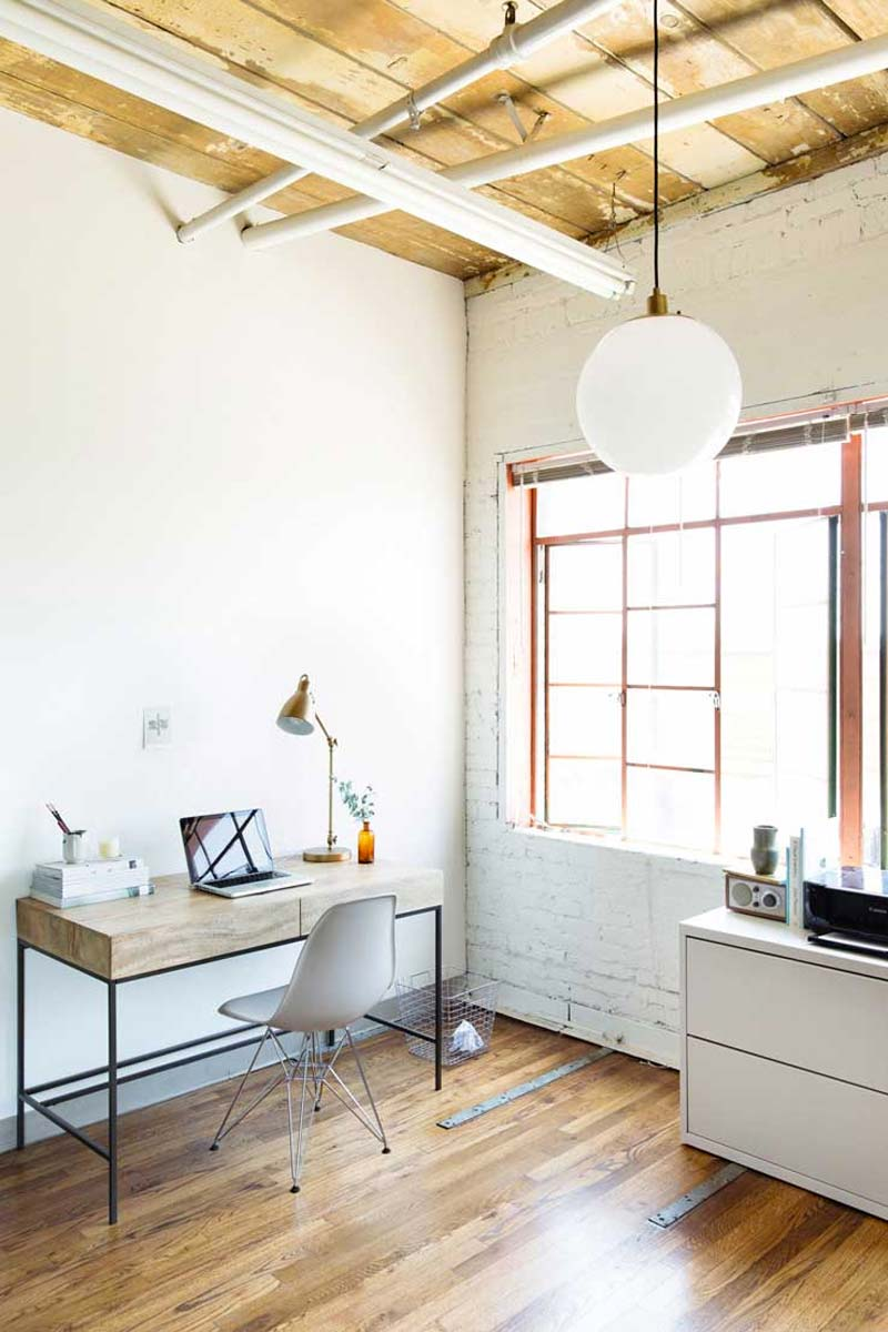 thuiskantoor verlichting tips hanglamp algemene verlichting