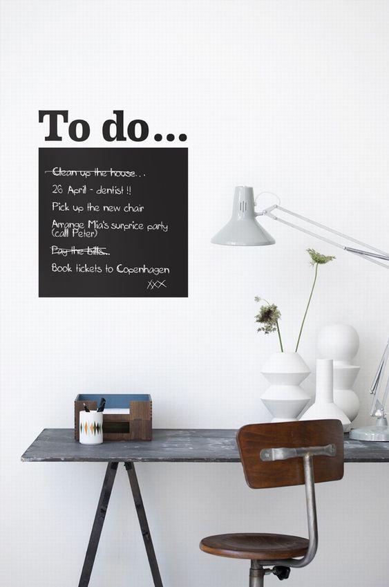 Todo lijstjes idee n obsigen for Lijst inrichting huis
