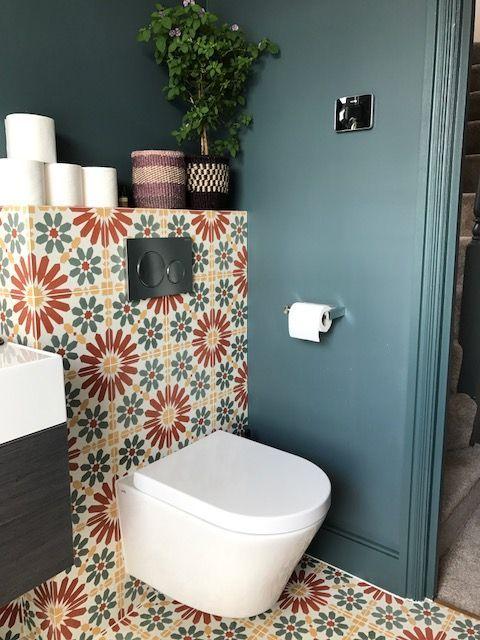 toilet inspiratie marokkaanse tegels