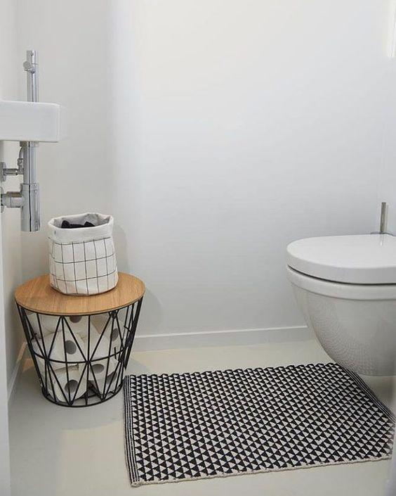 toilet inspiratie minimalistisch