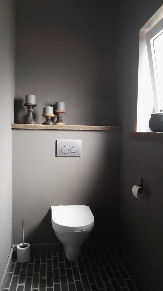 toilet inspiratie rustiek landelijk