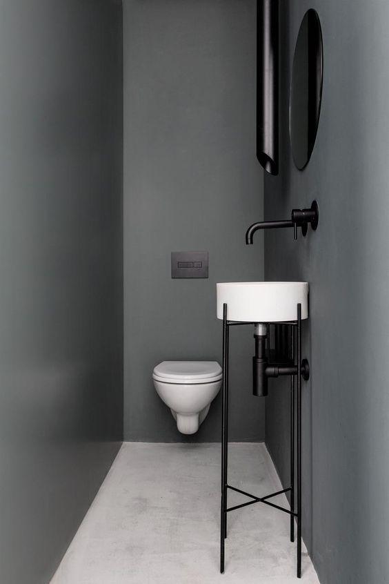 Toilet inspiratie strak