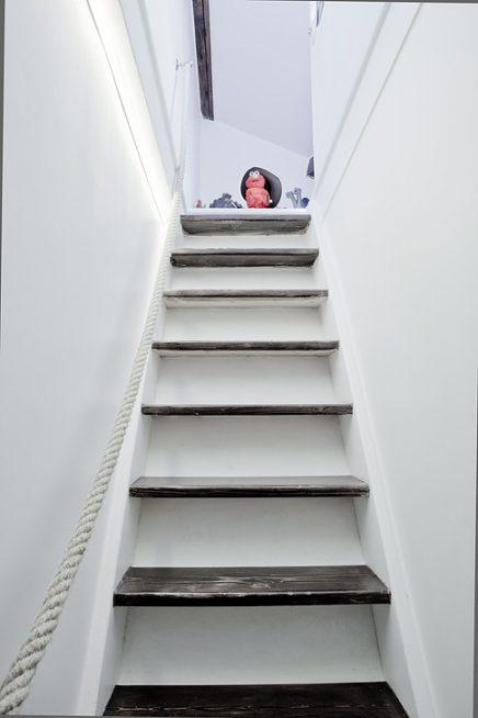 Touw trapleuning
