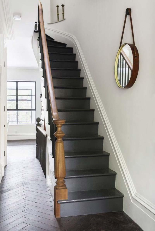 trap verven zwart