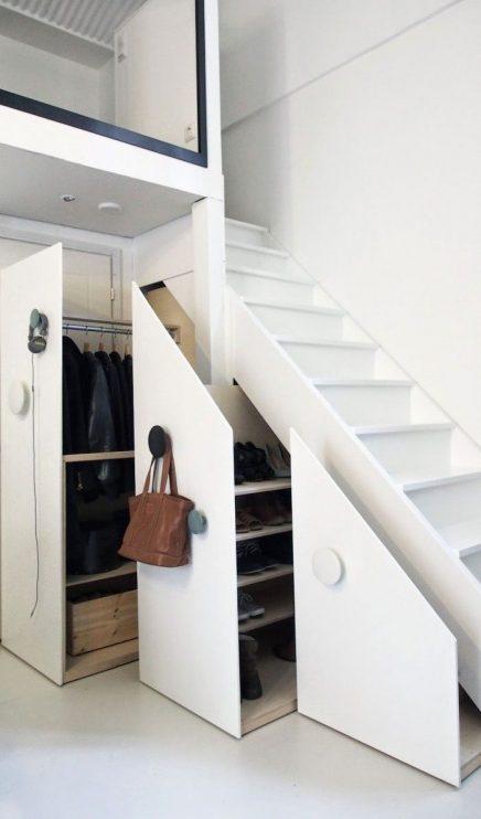 Trapkast garderobekast