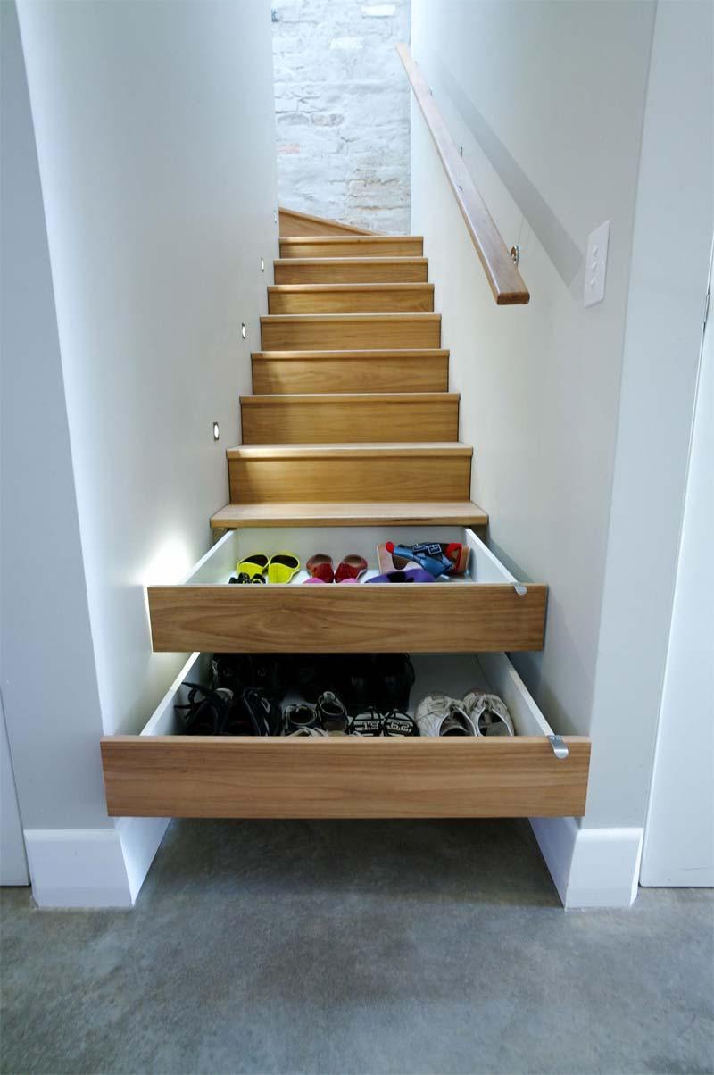 trapkast inspiratie laden schoenen