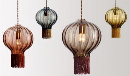 lamp gekleurd glas