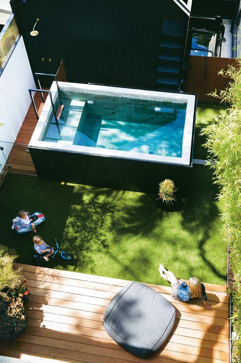 Tuin ideeën zwembad