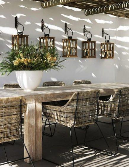 tuin inrichten in ibiza style inrichting. Black Bedroom Furniture Sets. Home Design Ideas