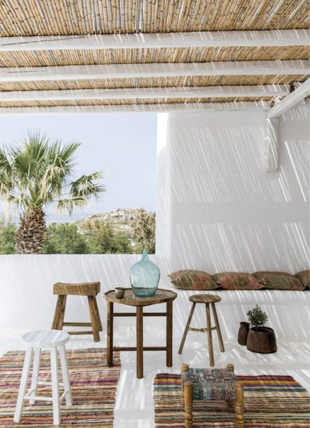 Tuin inrichten in ibiza style inrichting for Paysage interieur exterieur