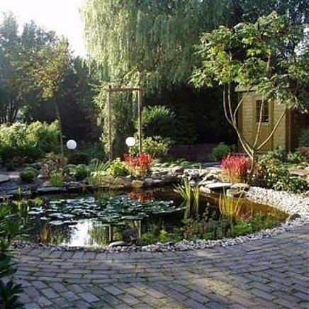 Tuin in Japanse sfeer