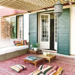 Garden with Moroccan influences