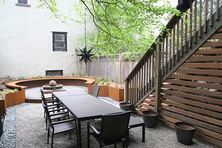 tuin ontwerp voor oud herenhuis inrichting