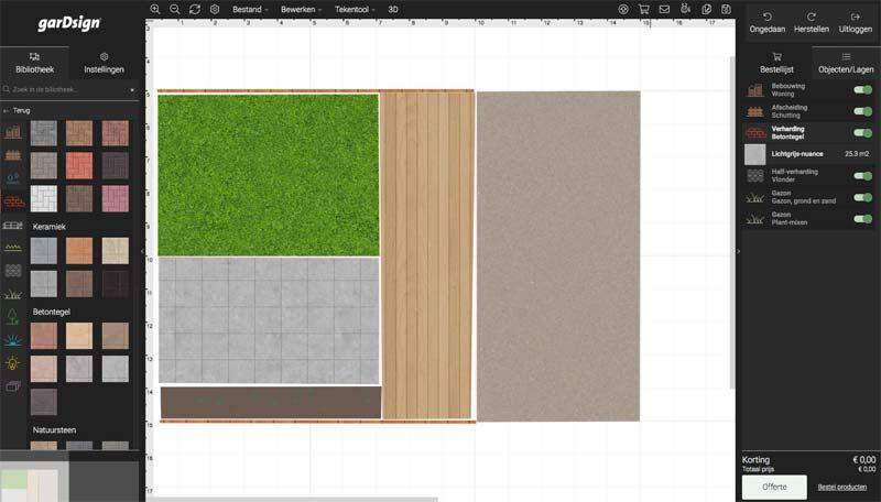 Tuin ontwerpen online tools  GarDsign