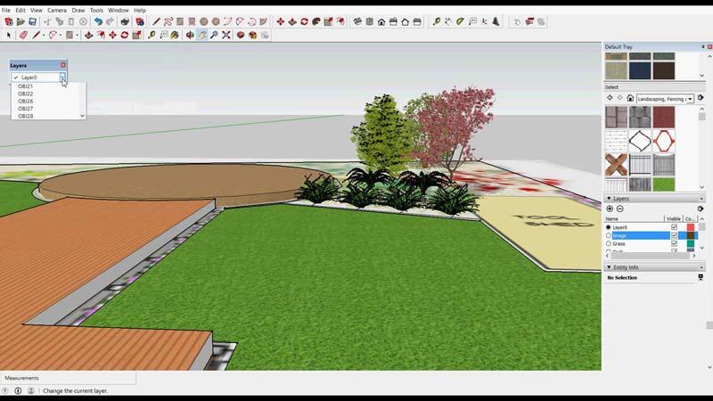 tuin ontwerpen online tools sketchup