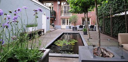 Tuin aan de PC hooftstraat!