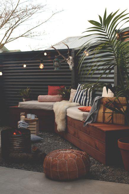Tuin van stylist en blogger Blackbird