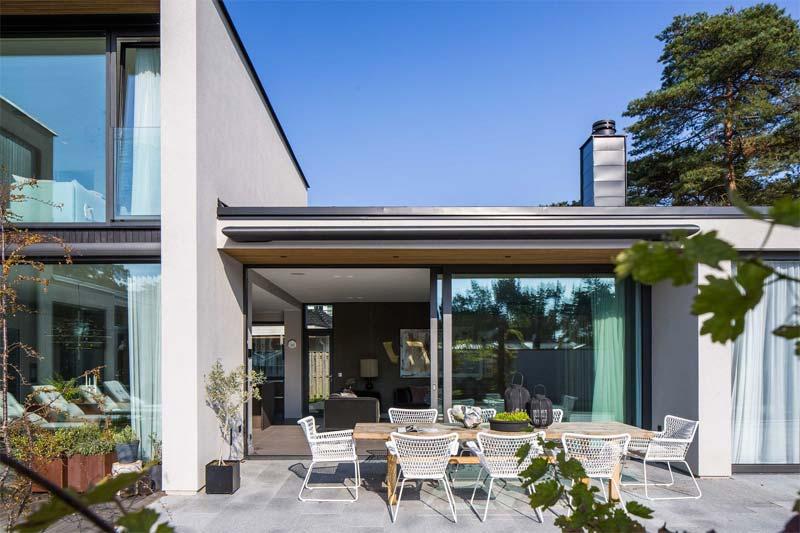 tuin terras ontwerpen modern